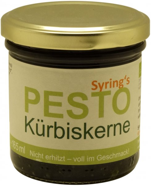 Beelitzer Bio Kürbiskern-Pesto, Glas 165 ml