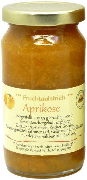 Fercher Fruchtaufstrich Aprikose, Glas 235 g