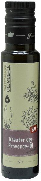 Chattengauer Bio Kräuter-der-Provence-Öl nativ, Flasche 100 ml
