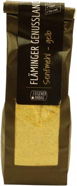 Fläminger Senfmehl, gelb, Packung: 200 g