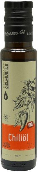 Chattengauer Bio Chiliöl, Flasche 100 ml