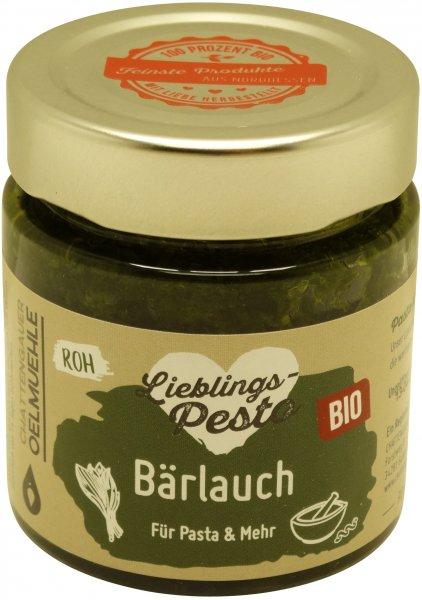 Chattengauer Bio Bärlauch-Pesto, Glas: 110 g
