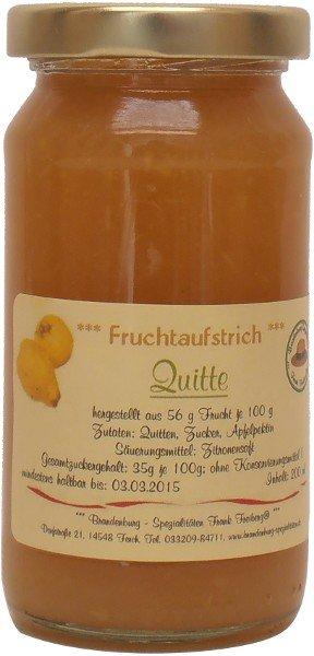 Fercher Fruchtaufstrich Quitte, Glas: 235 g