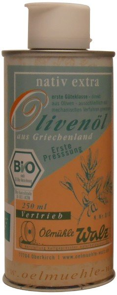 Griechisches Bio Olivenöl extra nativ, 250 ml