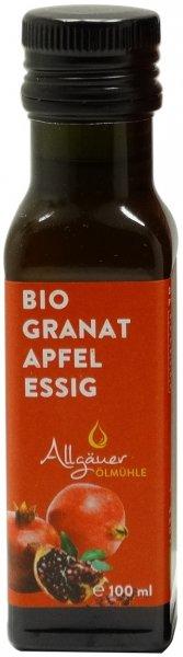 Allgäuer Bio Granatapfelessig, Flasche 100 ml