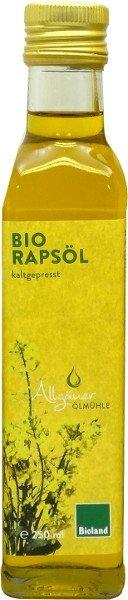 Allgäuer Ölmühle Allgäuer Bio Rapsöl - 250 ml 0103