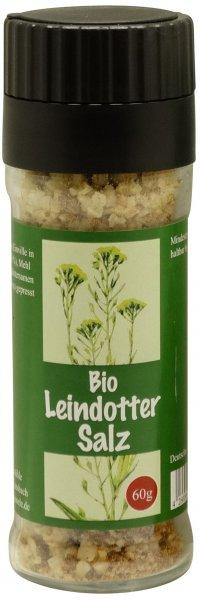 Saarländisches Bio-Leindottersalz, Streuer 60 g