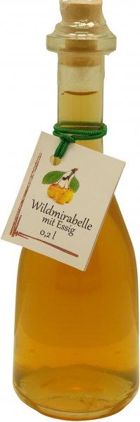 Fercher Wildmirabelle mit Essig, Flasche: 200 ml