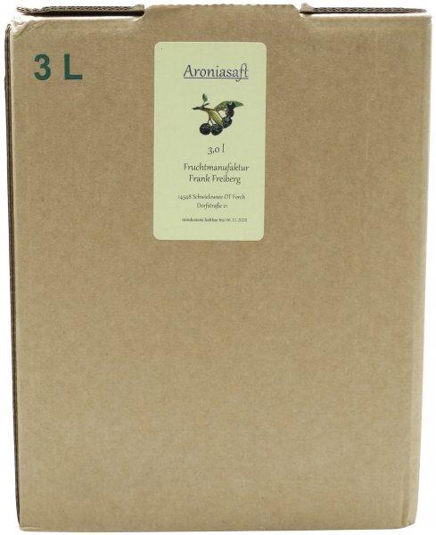 Fercher Aronia-Fruchtsaft, Bag-in-Box 3 L
