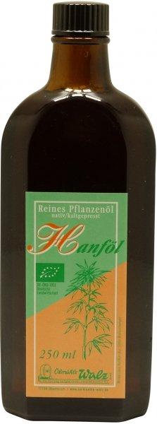 Badisches Bio Hanföl, Flasche 250 ml