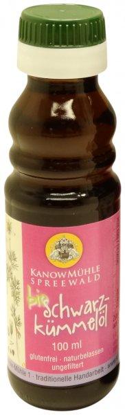 Spreewälder Schwarzkümmelöl, Premiumqualität, Flasche: 100 ml