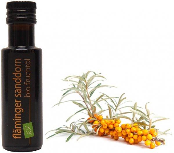 Fläminger Sanddorn Bio Fruchtöl, 100 ml