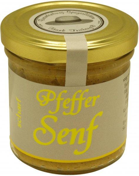 Fercher Pfeffer-Senf, scharf, Glas: 120 ml