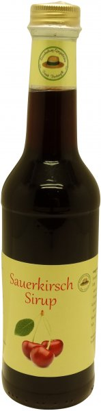 Fercher Sauerkirsch-Sirup, Flasche: 350 ml