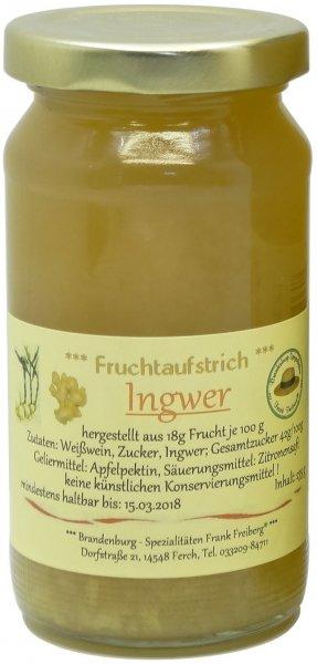 Fercher Ingwer-Fruchtaufstrich, Glas 235 g