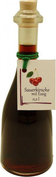 Fercher Sauerkirsche mit Essig, Flasche: 200 ml