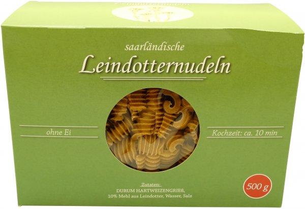 Saarländische Leindotter-Nudeln, Packung 500 g