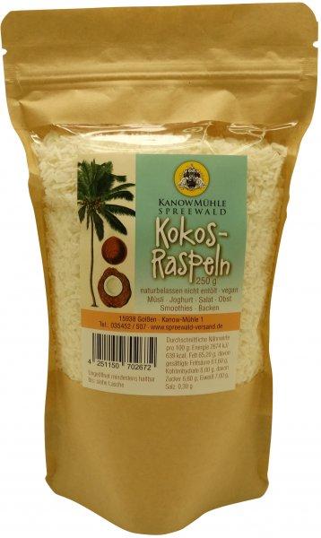 Kokos-Raspeln, Packung 250 g