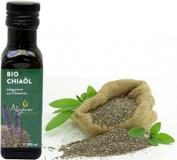 Allgäuer Bio Chiaöl, Flasche 100 ml