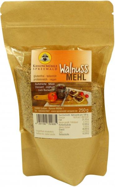 Spreewälder Walnuss-Mehl, Packung 250 g