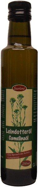 Saarländisches Leindotteröl, Flasche 250 ml