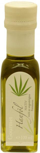 Waldecker Gourmet Hanföl nativ, Flasche: 100 ml