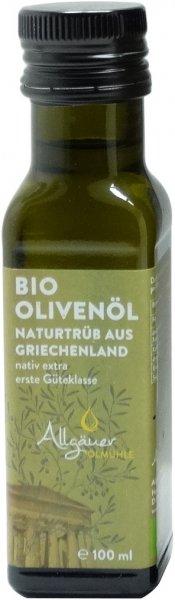 Griechisches Bio Olivenöl, nativ extra, Flasche 100 ml