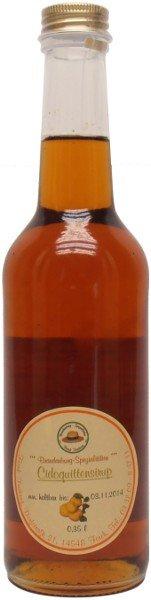 Fercher Cidoquitten-Sirup, Flasche: 350 ml