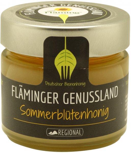 Fläminger Sommerblütenhonig, Glas 250 g