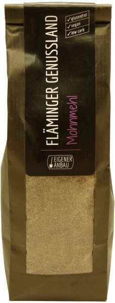 Fläminger Mohnmehl, Packung: 200 g