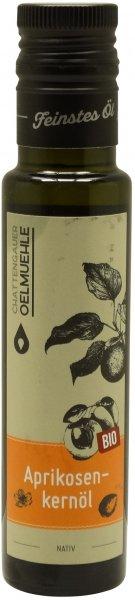 Chattengauer Bio Aprikosenkernöl nativ, Flasche 100 ml