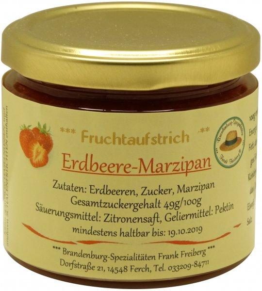 Fercher Fruchtaufstrich Erdbeere-Marzipan, Glas 155 g