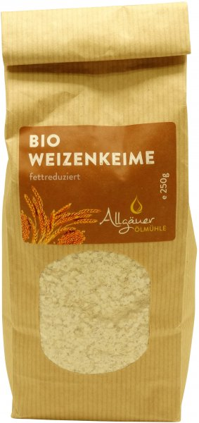 Allgäuer Bio Weizenkeime, Packung: 250 g