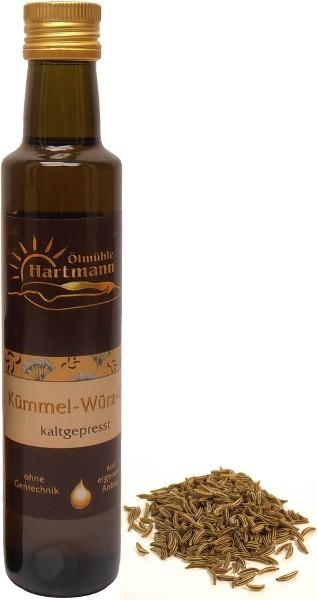 Schwäbisches Kümmel-Würz-Öl, Flasche 250 ml