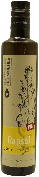 Chattengauer Bio Rapsöl nativ, Flasche 500 ml