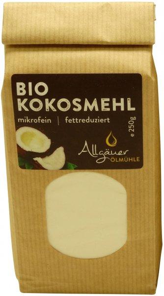 Allgäuer Bio Kokosmehl, Packung: 250 g
