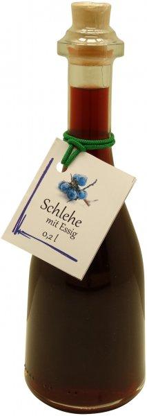 Fercher Schlehe mit Essig, Flasche: 200 ml
