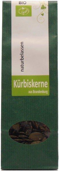 Beelitzer Bio Kürbiskerne zum Knabbern, 80 g