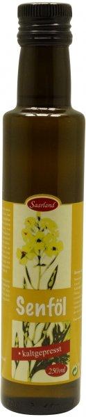 Saarländisches Senföl, Flasche 250 ml