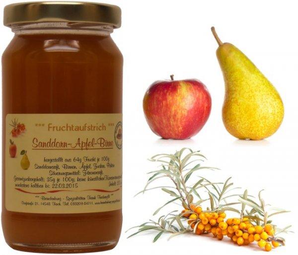 Fercher Fruchtaufstrich Sanddorn-Apfel-Birne, 200 ml