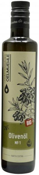 Italienisches Bio Olivenöl No. 1 -Apulien-, Flasche 500 ml