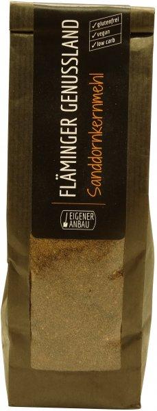 Fläminger Sanddornkernmehl, Packung: 200 g