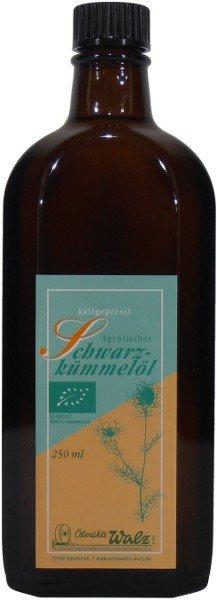 Badisches Bio Schwarzkümmelöl, Flasche: 250 ml