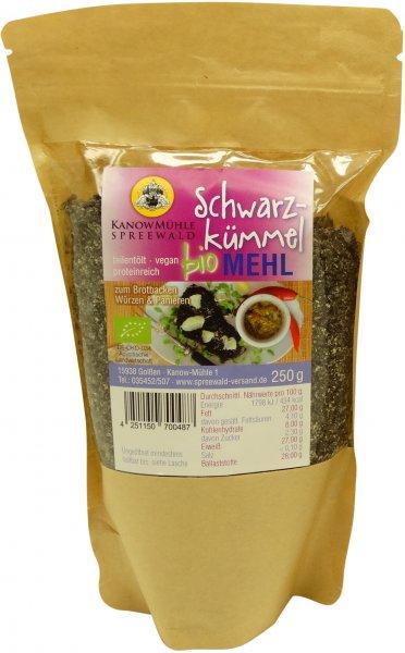 Spreewälder Bio Schwarzkümmel-Mehl, Packung: 250 g