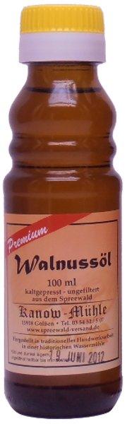 Spreewälder Walnussöl, Premiumqualität, 100 ml