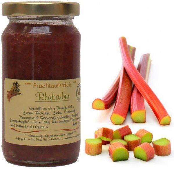 Fercher Fruchtaufstrich Rhabarber, 200 ml