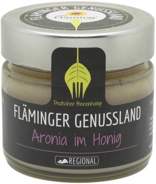 Fläminger Bienenhonig mit Aronia, Glas 250 g