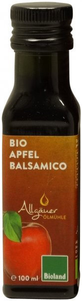 Allgäuer Bio Apfel Balsamico, Flasche 100 ml