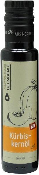 Chattengauer Bio Kürbiskernöl, geröstet, Flasche 100 ml