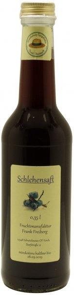 Fercher Schlehen-Fruchtsaft, Flasche 350 ml